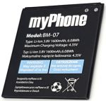 MyPhone Q-Smart Slim (BM-07) 1600mAh Li-ion, оригинал