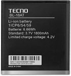 Tecno S5 (BL-18AT) 1800mAh Li-ion, оригинал